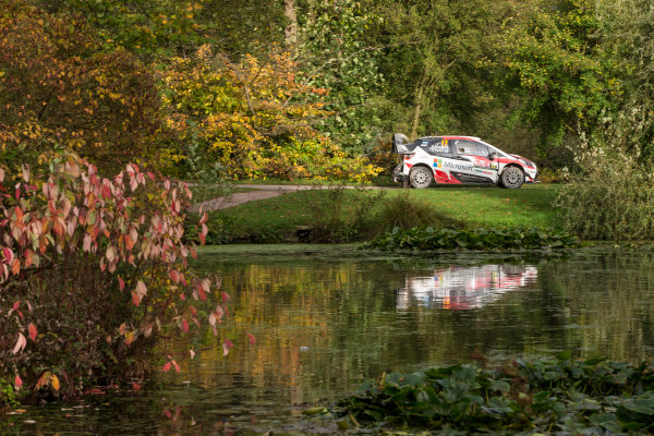 2017 FIA World Rally Championship, Round 12, Wales Rally GB, 26-29 October, 2017, Esapeka Lappi, Toyota, action, Worldwide Copyright: LAT/McKlein
