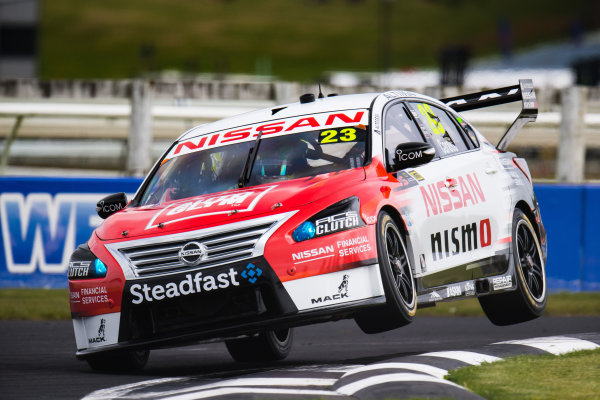 2017 Supercars Championship Round 14.  Auckland SuperSprint, Pukekohe Park Raceway, New Zealand. Friday 3rd November to Sunday 5th November 2017. Michael Caruso, Nissan Motorsport.  World Copyright: Daniel Kalisz/LAT Images  Ref: Digital Image 031117_VASCR13_DKIMG_0810.jpg