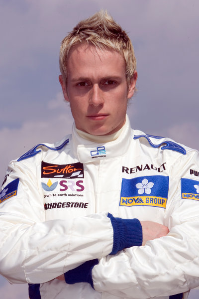 2005 GP2 Series - ImolaAutodromo Enzo e Dino Ferrari, Italy. 21st - 24th April.Thursday Preview.Adam Carroll (GB, Super Nova International). Portrait. Photo: GP2 Series Media Serviceref: Digital Image Only.