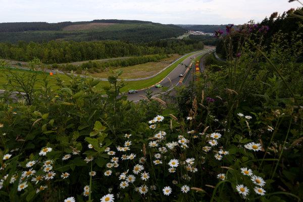 2016 British GT Championship, Spa-Francorchamps, Belgium. 8th - 9th July 2016. Kieran Griffin / Jake Giddings JW Bird Motorsport Aston Martin Vantage GT4. World Copyright: Ebrey / LAT Photographic.