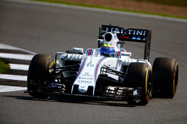 Silverstone, Northamptonshire, UK Friday 8 July 2016. Felipe Massa, Williams FW38 Mercedes. World Copyright: Hone/LAT Photographic ref: Digital Image _ONY7843