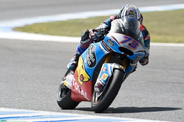 2017 MotoGP Championship - Round 4 Jerez, Spain Sunday 7 May 2017 Alex Marquez, Marc VDS World Copyright: Gold & Goose Photography/LAT Images ref: Digital Image 16190