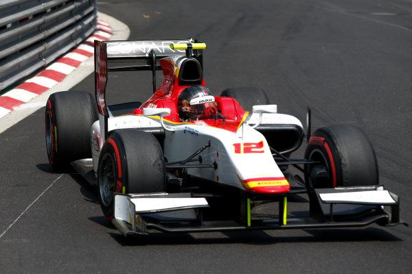 2017 FIA Formula 2 Round 3. Monte Carlo, Monaco. Friday 26 May 2017. Stefano Coletti (MON, Campos Racing)  Photo: Joe Portlock/FIA Formula 2. ref: Digital Image _L5R8954