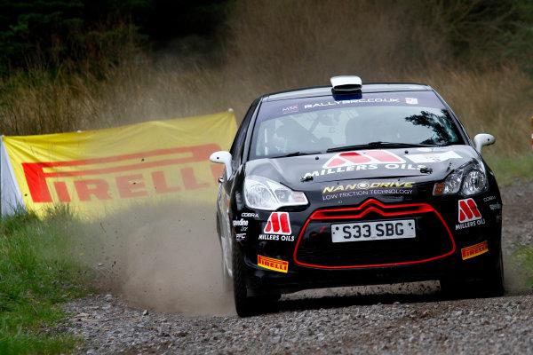 2014 MSA British Rally Championship, Pirelli Carlisle R B Foundation Rally. 3rd - 4th May 2014. Callum Black / James Morgan Citroen DS3 R3T. World Copyright: Ebrey / LAT Photographic.