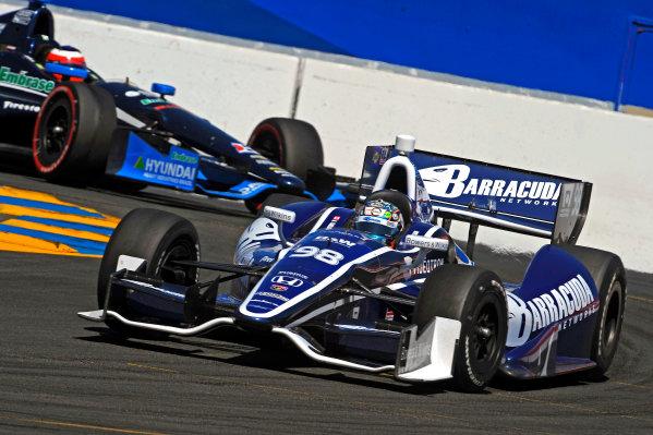 24-26 August, 2012, Sonoma, California USAAlex Tagliani (#98) and Rubens Barrichello (#8)(c)2012, F. Peirce WilliamsLAT Photo USA