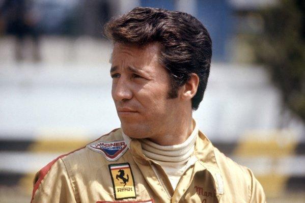 1971 United States Grand Prix.  Watkins Glen, New York, USA. 1st - 3rd October 1971. Mario Andretti (Ferrari 312B2), DNS, raced at Trenton International Speedway instead, portrait. World Copyright: LAT Photographic Ref: A2A02