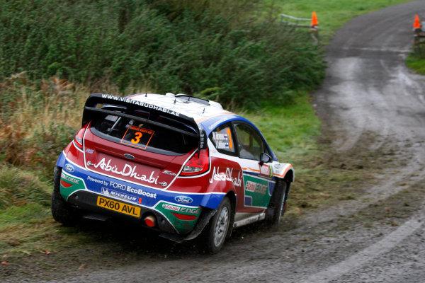 Round 13 - Wales Rally GB. 10th-13th November 2011. Mikko Hirvonen, Ford, ACtionWorldwide Copyright: McKlein/LAT