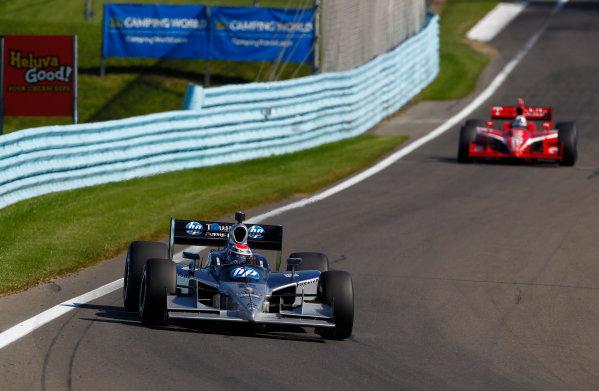 2-4 July, 2010, Watkins Glen, New York, USARaphael Matos leads Dario Franchitti.©2010, Phillip Abbott, USALAT Photographic