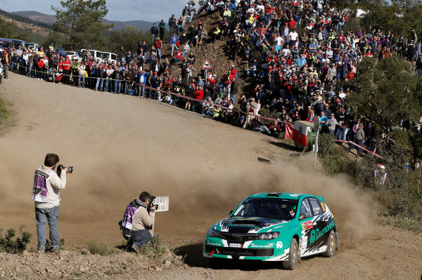 2013 World Rally Championship Rally Portugal 11th - 14th April 2013 Yuriy Protasov, Subaru, action Worldwide Copyright: McKlein/LAT