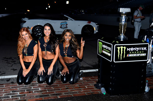 Monster Energy NASCAR Cup Series Brickyard 400 Indianapolis Motor Speedway, Indianapolis, IN USA Sunday 23 July 2017 Monster Girls World Copyright: Rusty Jarrett LAT Images
