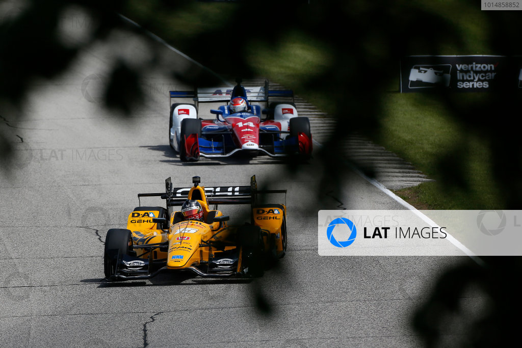 Verizon IndyCar Series Kohler Grand Prix Road America, Elkhart Lake, WI USA Friday 23 June 2017 Graham Rahal, Rahal Letterman Lanigan Racing Honda World Copyright: Phillip Abbott LAT Images ref: Digital Image abbott_elkhart_0617_0280