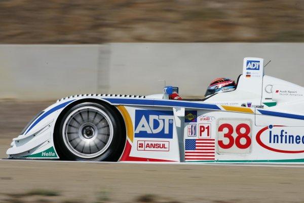 2004 American Le Mans Series (ALMS)Laguna Seca, California, USA. 15 - 16 October.J J. Lehto at speed.World Copyright: Richard Dole/LAT Photographicref: Digital Image Only