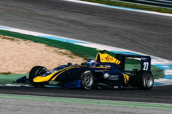 2016 GP3 Series Testing. Estoril, Portugal. Thursday 24 March 2016. Jake Hughes (GBR) DAMS  World Copyright: Malcolm Griffiths/LAT Photographic. ref: Digital Image F80P4996