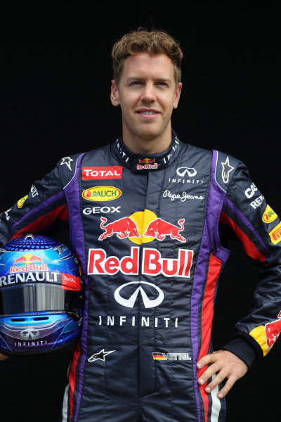 Albert Park, Melbourne, Australia Thursday 14th March 2013 Sebastian Vettel, Red Bull Racing World Copyright: XPB/  ref: Digital Image PHOTO4_477479