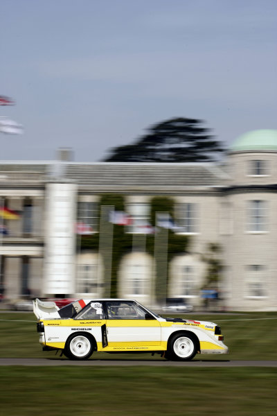 2005 Goodwood Festival of Speed Press DayGoodwood, England. 16th March 2005Audi Quattro rally car.World Copyright: Gary Hawkins/LAT Photographicref: Digital Image Only