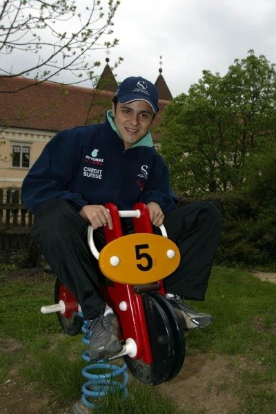 Sauber driver Felippe Massa (BRA) considers a switch to motorcycle racing.