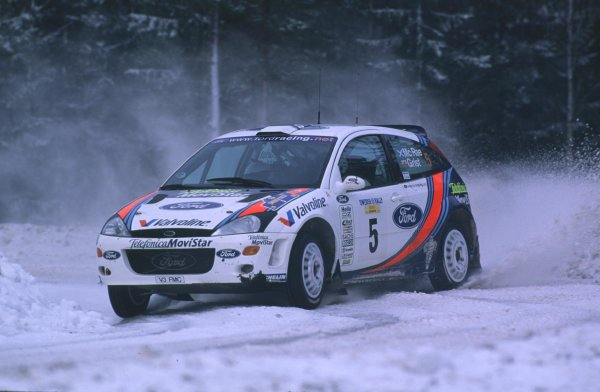 Colin McRae, Ford Focus WRC. 3rd Place
