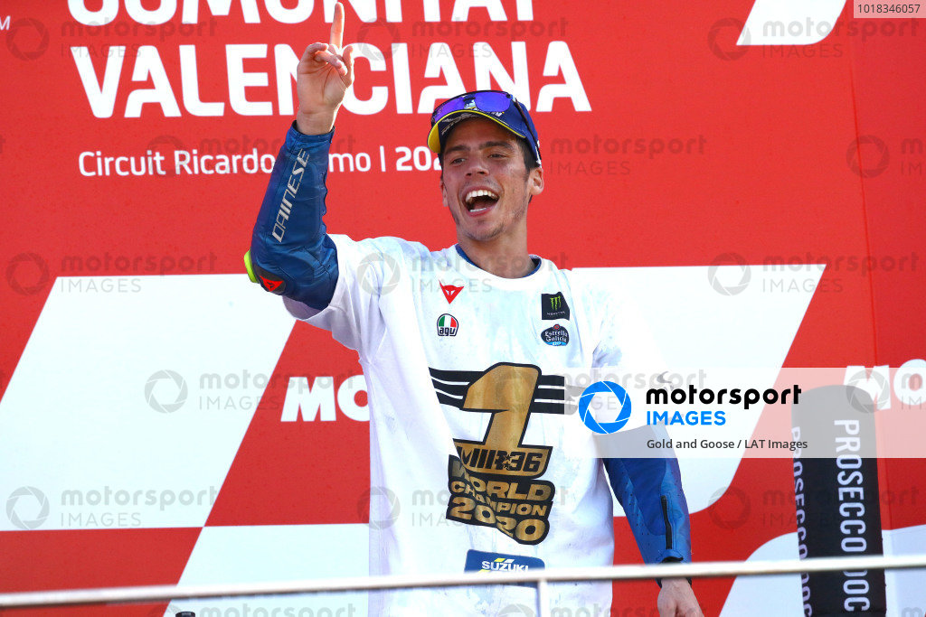 Champion Joan Mir, Team Suzuki MotoGP.