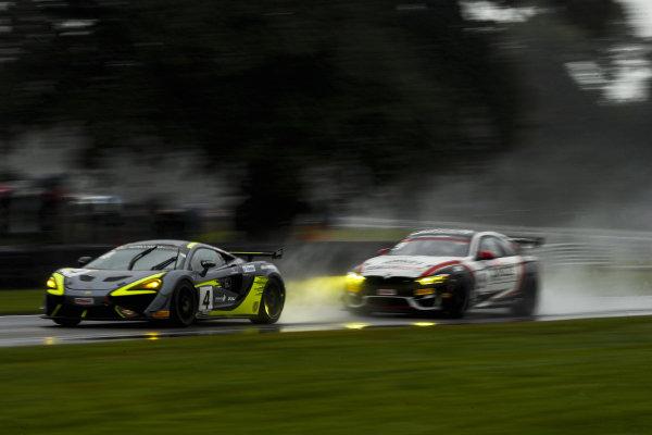 #4 Harry Hayek / Katie Milner - Team Rocket RJN McLaren 570S GT4 and #9 Chris Salkeld / Andrew Gordon-Colebrooke - Century Motorsport BMW M4 GT4