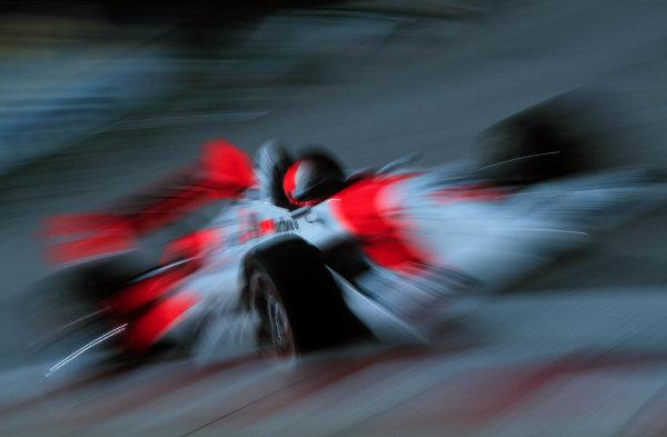 1999 CART Detroit Grand Prix.Detroit, Michigan, USA.8 August 1999.Al Unser Jr (Marlboro Penske-Mercedes-Benz).World - Phillip Abbott/LAT Photographic