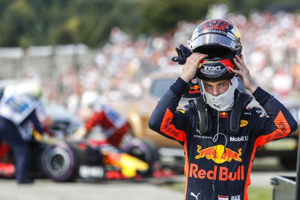 Race retiree Max Verstappen (NED) Red Bull Racing
