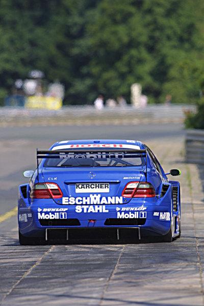 2001 German Touring Cars.Norisring, Germany, 7-8th July 2001.Marcel Tiemann, AMG Mercedes CLK.World Copyright Spinney/Lat Photographic.Ref.:8 5mb Digital.
