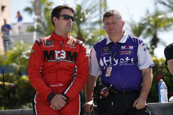 #13: Timmy Hill, Motorsports Business Management, Toyota Camry CrashClaimsR.US
