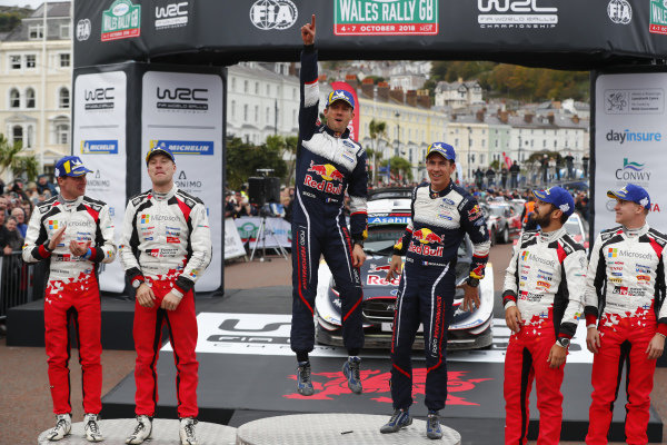 Sébastien Ogier, Julien Ingrassia, M-Sport Ford, Ford Fiesta WRC 2018,