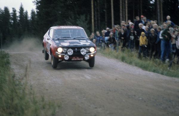 Timo Salonen / Jaakko Markkula, Datsun 160J.