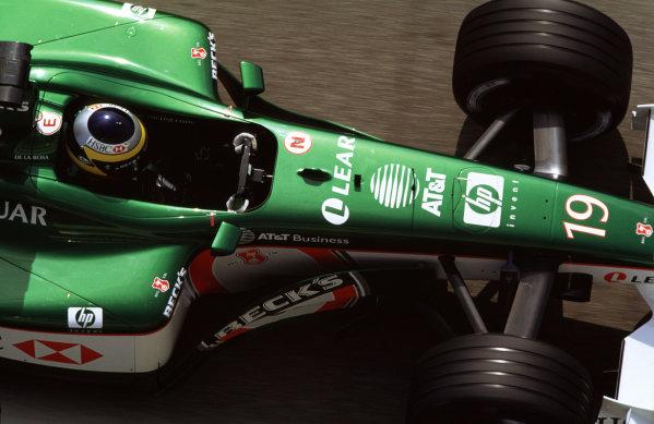 2001 Spanish Grand Prix Catalunya, Barcelona, Spain.  27-29 April 2001. Pedro de la Rosa (Jaguar R2).  World Copyright - LAT Photographic ref: 35mm Image