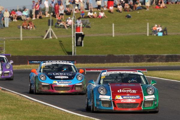 2015 Porsche Carrera Cup, Snetterton, Norfolk. 8th-9th August 2015, Tom Sharp (GBR) IDL World copyright.Jakob Ebrey/LAT Photographic