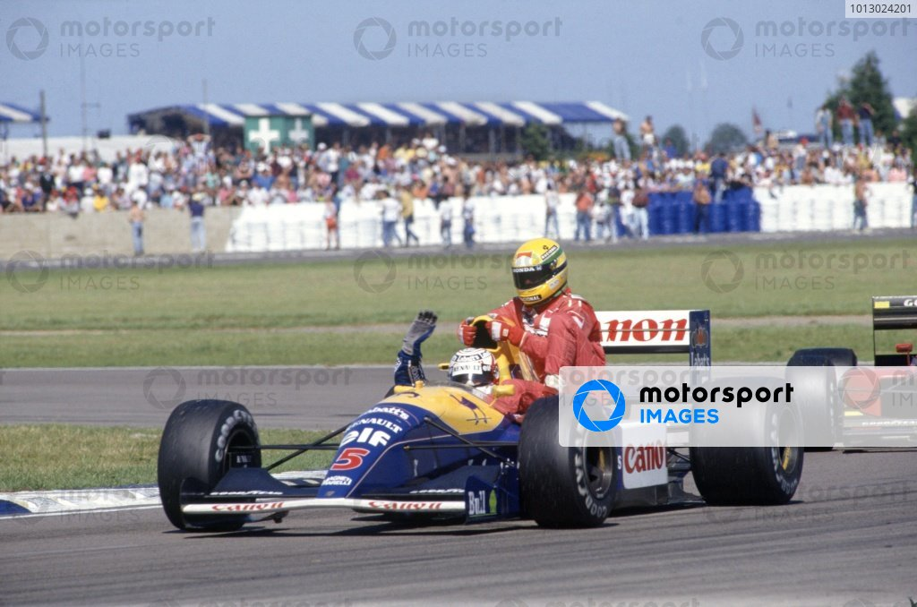 1991 British Grand Prix.