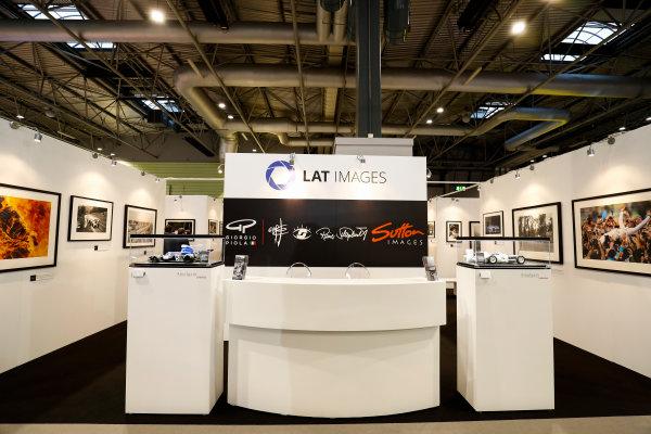 Autosport International Exhibition. National Exhibition Centre, Birmingham, UK. Thursday 11th January 2017. The LAT Stand.World Copyright: Ashleigh Hartwell/LAT Images Ref: _O3I7532