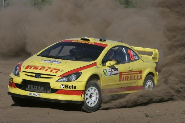 2006 FIA World Rally Champs. Round 6Rally Argentina. 27th-30th April 2006Gigi Galli, Peugeot, actionWorld Copyright: McKlein/LAT