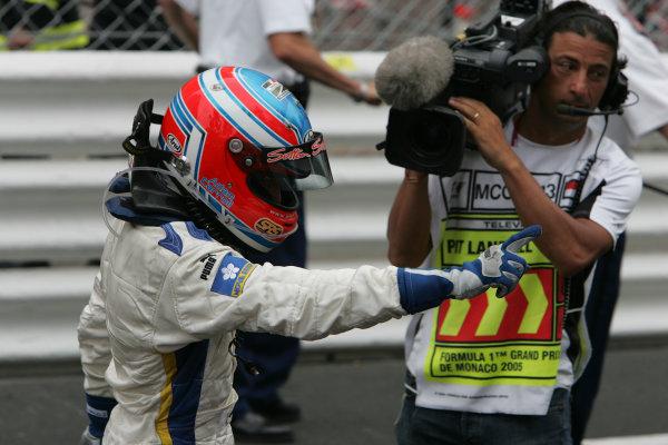 2005 GP2 Series - MonacoMonte-Carlo. 20th & 21st MaySaturday - RaceAdam Carroll (GB, Super Nova International). race winner Portrait. Photo: GP2 Series Media Serviceref: Digital Image Only.