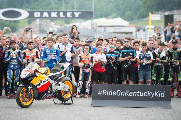 2017 MotoGP Championship - Round 6 Mugello, Italy Sunday 4 June 2017 Nicky Hayden rememberance World Copyright: Gold & Goose Photography/LAT Images ref: Digital Image 674925