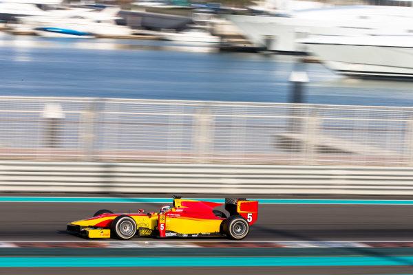 2014 GP2 Series Test 1  Yas Marina Circuit, Abu Dhabi, UAE.  Wednesday 12 March 2014. Raffaele Marciello (ITA) Racing Engineering  Photo: Malcolm Griffiths/GP2 Series Media Service ref: Digital Image F80P5106