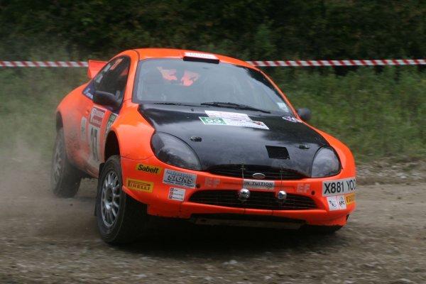 2007 British Rally Championship,Rally Yorkshire, 6th October 2007,Stefan Davis/Pat Cooper Ford Puma S1600, World Copyright: Ebrey/LAT Photographic.