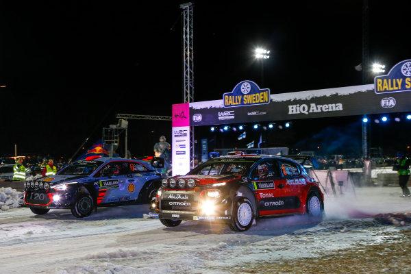 2017 FIA World Rally Championship, Round 02, Rally Sweden, February 09-12, 2017, Craig Breen, Citroen, Action, Worldwide Copyright: McKlein/LAT