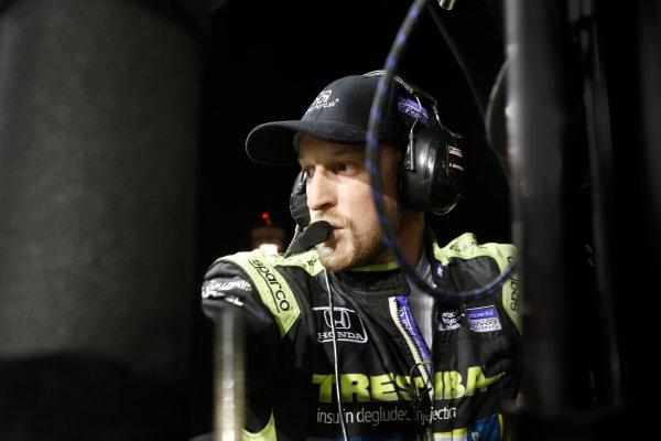 2017 IndyCar Media Day - Track Action Phoenix Raceway, Arizona, USA Saturday 11 February 2017 Charlie Kimball World Copyright: Michael L. Levitt/LAT Images ref: Digital Image _AT_3412