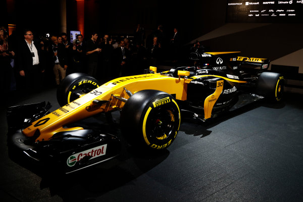 Renault  RS17  Formula 1 Launch.