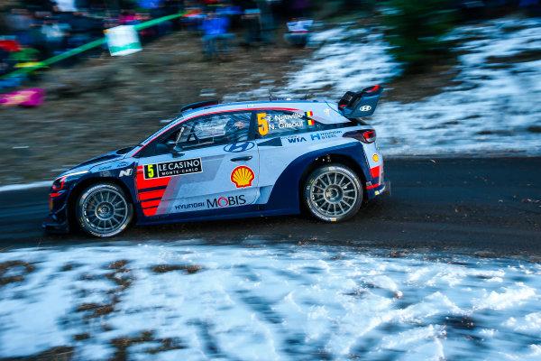 2017 FIA World Rally Championship,  Round 01, Rally Monte Carlo,  January 18-22, 2017,  Thierry Neuville/Nicolas Gilsoul (Hyundai i20 Coupe WRC) Worldwide Copyright: McKlein/LAT