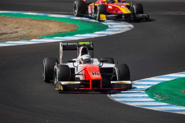 2017 FIA Formula 2 Round 10. Circuito de Jerez, Jerez, Spain. Saturday 7 October 2017. Jordan King (GBR, MP Motorsport).  Photo: Andrew Ferraro/FIA Formula 2. ref: Digital Image _FER1657