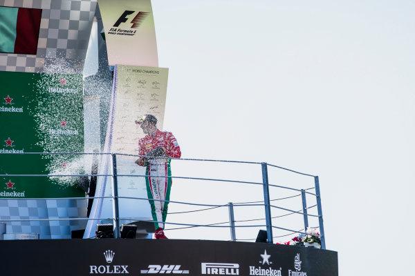 2017 FIA Formula 2 Round 9. Autodromo Nazionale di Monza, Monza, Italy. Sunday 3 September 2017. Antonio Fuoco (ITA, PREMA Racing).  Photo: Zak Mauger/FIA Formula 2. ref: Digital Image _56I9220
