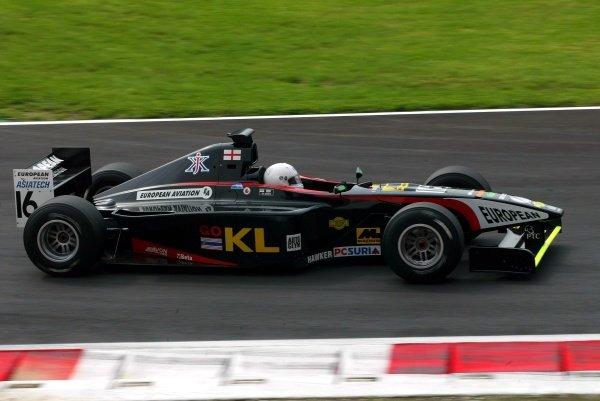 Justin Keen (GBR) European Minardi F3000.International F3000 Championship, Rd12, Monza, Italy, 13 September 2002.DIGITAL IMAGE