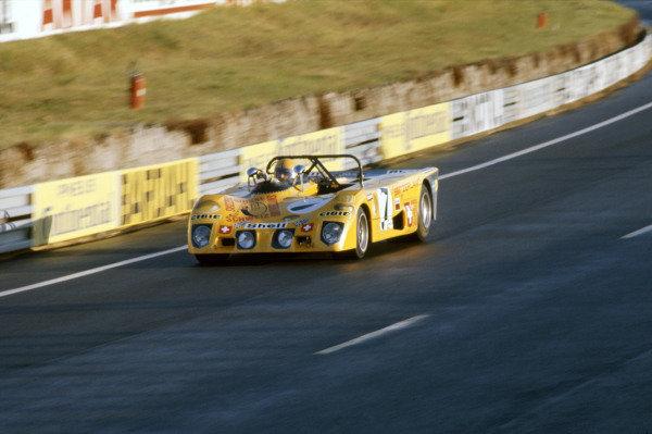 1972 Le Mans 24 HoursLe Mans, France. 10th - 11th June 1972.Jorge de Bagration/Mario Cabral/Hughes de Fierlant (Lola T280-Ford Cosworth).World Copyright: Murenbeeld/LAT Photographicref: 35mm Transparency Image