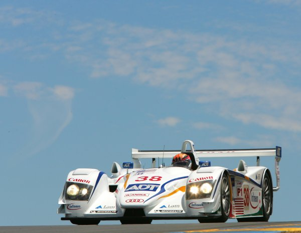 2004 American Le Mans Series (ALMS)Infineon Grand Prix of Sonoma, Sears Point. 16th - 18th July. Lehto in Champion Audi.World Copyright: Richard Dole/LAT Photographicref: Digital Image Only