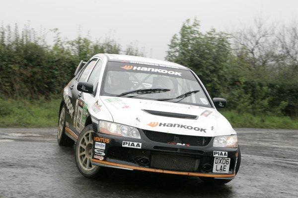 2006 British Rally ChampionshipUlster Rally, Armagh.2nd September 2006Stuart JonesWorld Copyright - Ebrey/LAT Photographic
