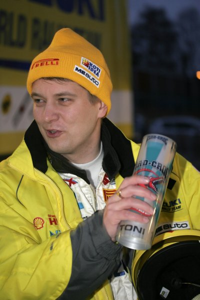 2008 FIA World Rally ChampionshipRound 02Swedish Rally7-10 February 2008Toni Gardemeister, Suzuki, Portrait.Worldwide Copyright: McKlein/LAT