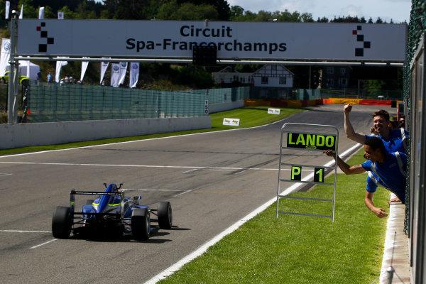 2016 BRDC F3 Championship, Spa-Francorchamps, Belgium. 7th - 9th July 2016. Lando Norris (GBR) Carlin BRDC F3. World Copyright: Ebrey / LAT Photographic.